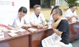 蒙兴文主任参加抗战胜利70周年义诊活动