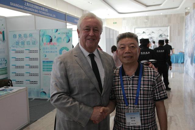 蒙兴文主任与世卫组织肌肉骨骼老化公共卫生方面合作中心Jean-Yves Reginster教授探讨交流.JPG
